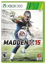 Madden NFL 15 (Microsoft Xbox 360, 2014) Brand New