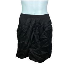 Wayne By Wayne Cooper Womens Skirt Size 12 Black Pleated Zipper