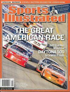 Sports Illustrated 2005 Jeff Gordon & Tony Stewart Daytona 500 NO LABEL