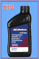 10 Quart GMC OEM Automatic Transmission Fluid AcDelco Full Synthetic Dextron VI