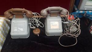 2x antikes Kurbeltelefon  Modell OB 33 von Reiner München