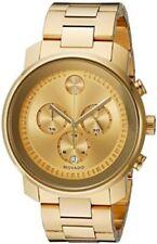 Movado Men's 3600278 Gold-Tone Chronograph Watch