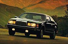 1986 Lincoln MARK MK. VII / 7 Brochure / Catalog: DESIGNER SERIES,BILL BLASS,LSC