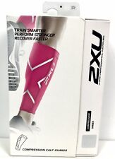 2XU Compression Performance Run Calf Sleeves Unisex sz M Medium 1 Pair