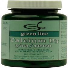 CALCIUM D3 500/1.000 Kapseln 60 St PZN 10400338