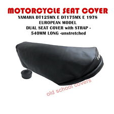 MOTORCYCLE SEAT COVER YAMAHA DT125 MX  E DT175 MX E 1978 model EUROPEAN MODELS