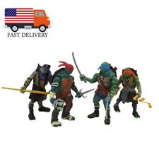 4PCS Teenage Mutant Ninja Turtles Movie 4