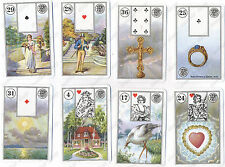 MILE LENORMAND #1941 CARTOMANCY TAROT CARDS - 3 LANGUAGES #121