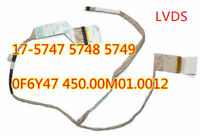 for Dell screen cable Insprion17-5748 5747  untouchable connector  0F6Y47 F6Y47