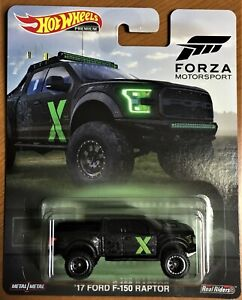 Hot Wheels - Premium - Forza Motosports - 17 Ford F-150 Raptor