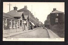 Lichfield - Bird Street - printed postcard
