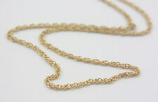 Vtg Speidel 1/20 14KT GF Gold Filled Chain Necklace - New Old Stock - EASY CLASP