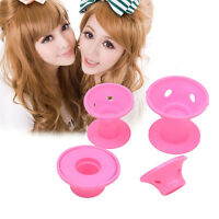 10pcs Silicone No Clip Hair Curlers Rollers Hair Styling Hairdressing DIY Tools