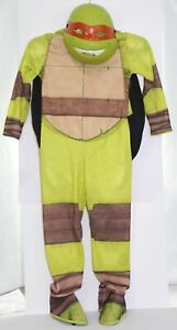 """Rubie's Deluxe Ninja Turtles Michelangelo Mikey Costume Youth Boys Small 44-48"""""""
