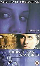 Don't Say A Word (VHS/SUR, 2003)