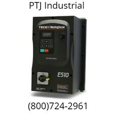 10 HP VFD Drive NEMA 4X 460V Inverter TECO Westinghouse E510-410-H3FN4S-U New