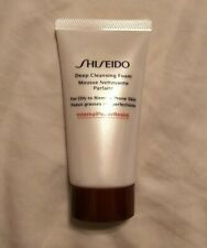 New Shiseido Deep Cleansing Foam For Oily To Blemish-Prone Skin Sample 1.7 Oz