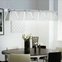 Rost Hänge Beleuchtung LED verstellbare Pendel Lampe Ess Tisch Wohn Raum Luxus