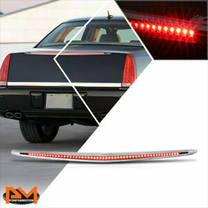 For 06-11 Cadillac DTS Full LED Third 3RD Tail Brake Light Rear Stop Lamp Black