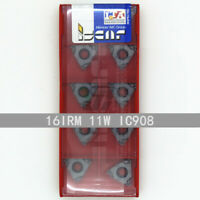 ISCAR 16IRM 11W IC908 Threaded blade Carbide Inserts 10Pcs