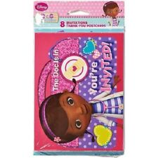 Disney Doc McStuffins Birthday Party Invitations & Thank You Cards Package of 8