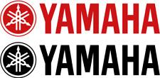 2 x YAMAHA Schriftzug + Logo Viele Farben Größe 12 cm Hoch 5 cm oder Typen