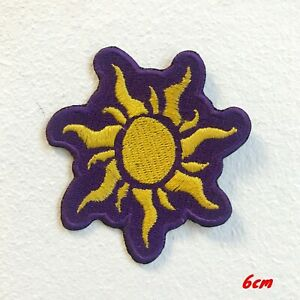 Sun Shinning Dress Clothing Iron on Sew on Embroidered Patch#1751