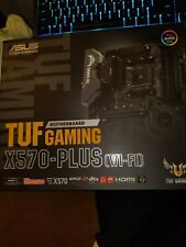 New listing Asus Tuf gaming x570 plus WiFi Amd