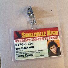 Superman Smallville ID Badge-Smallville High Clark Kent costume prop cosplay