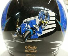Arai Astral X Bosch Blue Silver FREE tint shield option motorcycle helmet