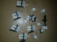 LEGO Star Wars Clone WarsTroopers X6 Inc. Minigun commando (Genuine) Minifigures