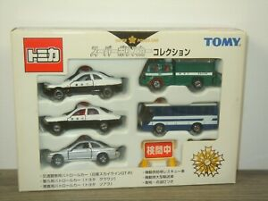 Japanese Super Police Car Collection 5 - Takara Tomy Tomica in Box *47660