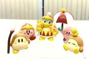 Kirby of Stars Game Dedede Waddle Dee Collectible Desktop Mini SD Figure Toy Set