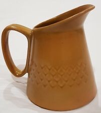 Vintage Australian Diana Pottery Nefertiti Stoneware Milk Jug U208 c1960s