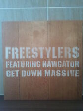 "FREESTYLERS / GET DOWN MASSIVE 12"" OG 2001 NEW UK GARAGE/BREAKS TRICK OR TREAT"