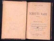 Nicola Marcone, Scritti vari, Tipografia Claudio Stracca 1891 seconda edizione R