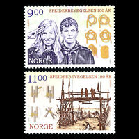 Norway 2007 - EUROPA Stamps - The 100th Anniversary of Scouting - Sc 1515/6 MNH