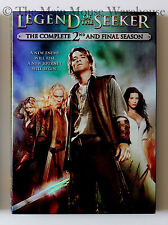 Legend of the Seeker Complete Second Season Mythology Fantasy T.V. Series on DVD