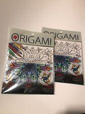 2 Yasutomo Colour-2 Origami 24 Sheets 15cm Original.