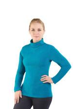 Maglie e camicie da donna blu alti