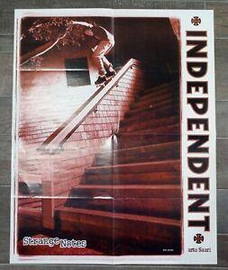 INDEPENDENT TRUCKS Arto Saari SANTA CRUZ Eric Bork DoubleSided Skateboard Poster