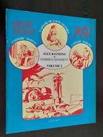 BD AGENT SECRET EDITIONS FOCUS VOLUME 2 ALEX-RAYMOND&DASHIELL-HAMMET 1979
