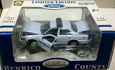 Henrico County Police Virginia 2005 Ford GEARBOX PREMIER 1:43