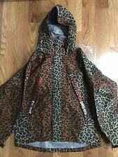 Supreme Leopard Gortex taped seam jacket parka  Waterproof Size Medium M
