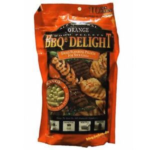 BBQr's Delight Orange Pellet Blend 1lb Grilling Smoking Pellets 100% All Natural