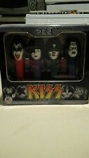 NIP 2012 KISS tin set (4) PEZ candy  live nation