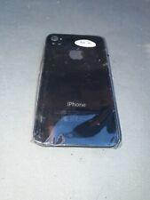Vitre Couvercle Arrière Cache Arrière Coque Noire iPhone 4S