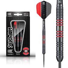 Target Vapor 8 Black 23g 25g Red, 80% Tungsten Darts, Vapor8 Flights, Pro Grip