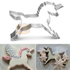 Unicorn Horse Cookies Cutter Mold Cake Decorating Biscuit Pastry Baking Mould