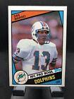 1984 Topps Dan Marino Rookie Card RC #123 Miami Dolphins